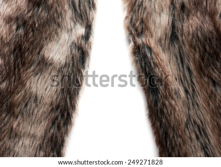 animal fur as background - stock photo