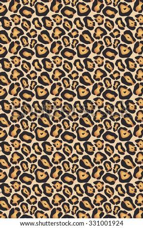 animal skin seamless pattern - stock photo