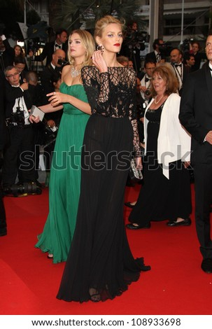 Anja Rubik arriving for the 'Cosmopolis' premiere during the 65th annual Cannes Film Festival, Cannes, France. 25/05/2012 Picture by: Henry Harris / Featureflash
