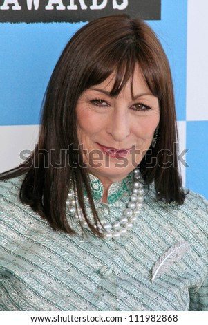Anjelica Huston at the 2007 Film Independent's Spirit Awards. Santa Monica Pier, Santa Monica, CA. 02-24-07