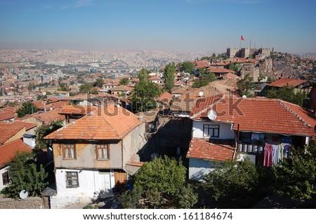 Ankara, Capital city of Turkey  - stock photo