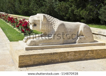 Ankara - Turkey, Mausoleum of Ataturk, Lions Road