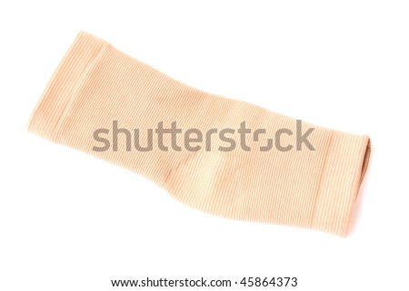 ankle support bandage isolated on a white background - stock photo