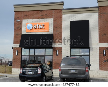 ANN ARBOR, MI - JANUARY 30: AT&T, whose south Ann Arbor store is shown on January 30, 2016, bought Direct TV in 2015 for $48.5 billion.
