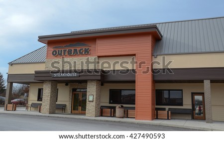 ANN ARBOR, MI - JANUARY 30: Outback Steakhouse, whose south Ann Arbor, MI store is shown January 30, 2016, has over 700 locations.