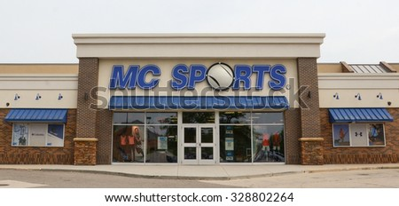 ANN ARBOR, MI - JUNE 7: MC Sports, whose Ann Arbor store is shown on June 7, 2015, has 75 locations.