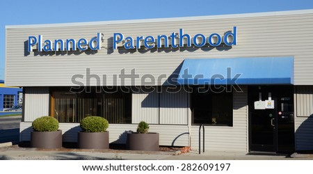 ANN ARBOR, MI - SEPTEMBER 7: Planned Parenthood, whose Ann Arbor location is shown on September 7, 2014, operates 820 health centers in the US.