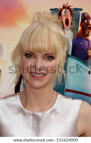 "Anna Faris at the ""Cloudy With A Chance of Meatballs 2"" Los Angeles Premiere, Village Theater, Westwood, CA 09-21-13"
