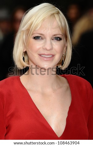 "Anna Farris arriving for the premiere of ""The Dictator"" at the Royal Festival Hall, South Bank , London. 10/05/2012 Picture by: Steve Vas / Featureflash"