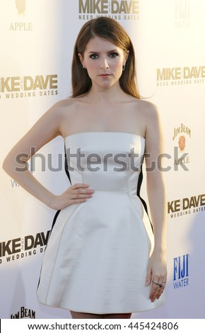 Anna Kendrick Los Angeles Premiere Mike Stock Photo (Royalty Free ...