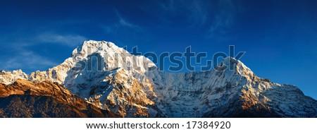 Annapurna South, Nepal - stock photo