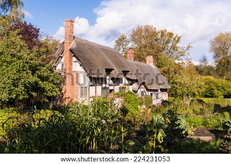 Anne Hathaway's Cottage England