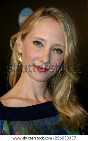 Anne Heche attends the 57th Annual Emmy Awards TV Guide and Inside TV After Party held at the Roosevelt Hotel in Hollywood, California, on September 18, 2005.