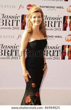 Anne Sophie Mutter arrives for the Classical BRIT Awards 2011at the Royal Albert Hall, Kensington, London. 12/05/2011  Picture by: Alexandra Glen / Featureflash