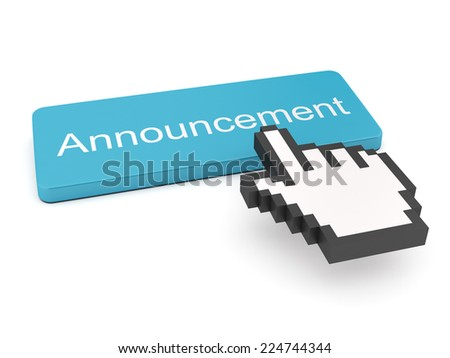 Announcement Button on Keyboard