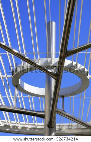 Annular steel structure