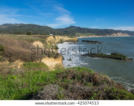 Ano Nuevo State Park is a state park of California, USA, encompassing Ano Nuevo Island and Ano Nuevo Point, which are known for their pinniped rookeries.