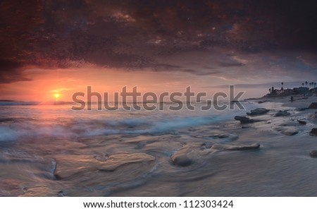 Another Day At The Beach - stock photo