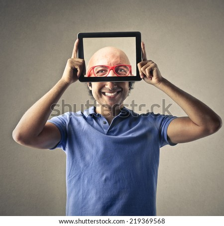 Another head  - stock photo