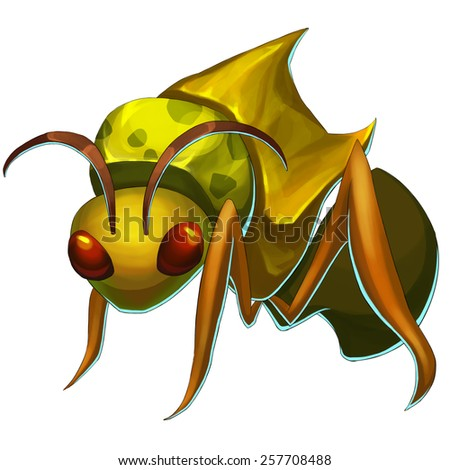 Ant Monster - Creature Design - stock photo