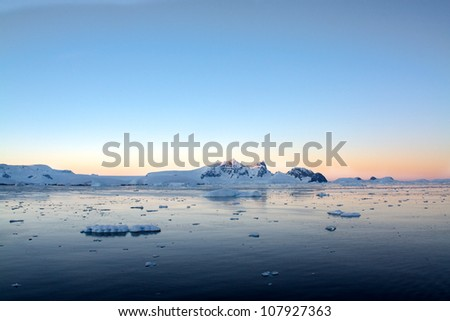 Antarctic Sunrise