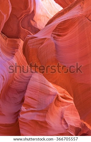Antelope Canyon Abstract Landscape