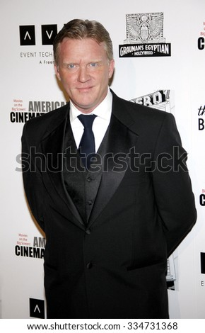 Anthony Michael Hall at the 25th American Cinematheque Award Honoring Robert Downey Jr. held at the Beverly Hilton hotel in Beverly Hills, California, United States on October 14, 2011.