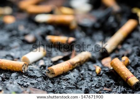 anti-smoke - stock photo