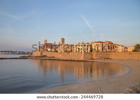 Antibes, France - stock photo