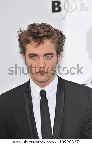 ANTIBES, FRANCE - MAY 21, 2009: Robert Pattinson at amfAR's Cinema Against AIDS Gala at the Hotel du Cap d'Antibes. May 21, 2009  Antibes, France