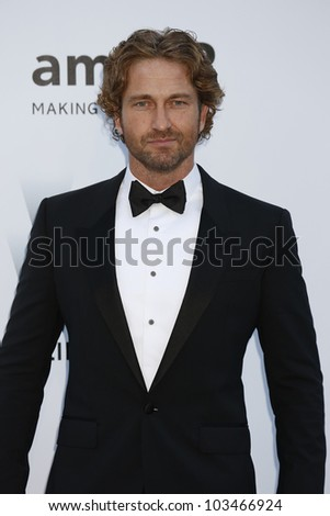 ANTIBES  - MAY 24: Gerard Butler at the 2012 amfAR's Cinema Against AIDS at Hotel Du Cap on May 24, 2012 in Antibes, France