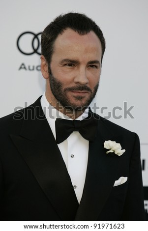 ANTIBES - MAY 20: Tom Ford at the AMFAR Cinema Against Aids Gala at the Hotel Du Cap on  May 20, 2010 in Antibes, France