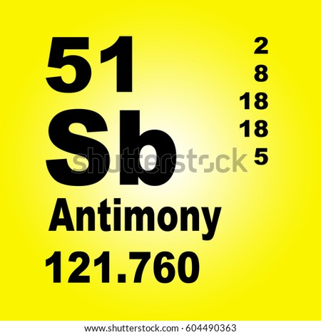 Antimony periodic table elements stock illustration 604490363 antimony periodic table of elements urtaz Image collections