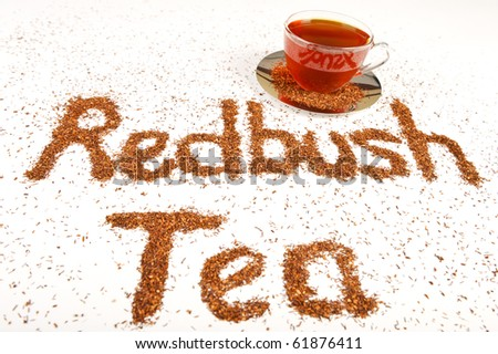 Antioxidant rich healthy herbal tea from the Western Cape region in South Africa.