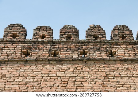 Antique city wall conservation