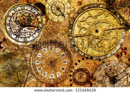 Antique Clock Stock Photos Images Amp Pictures Shutterstock