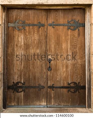 Antique door & Antique Door Stock Photo (Royalty Free) 114600100 - Shutterstock