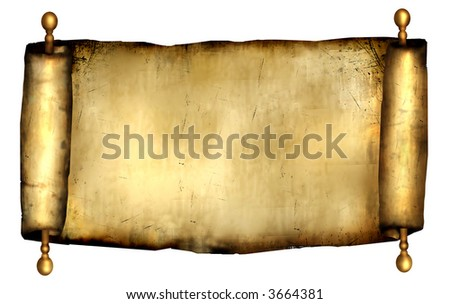 Antique Gold Scroll for Background
