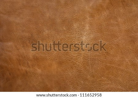 Antique Leather Texture, TAN - stock photo