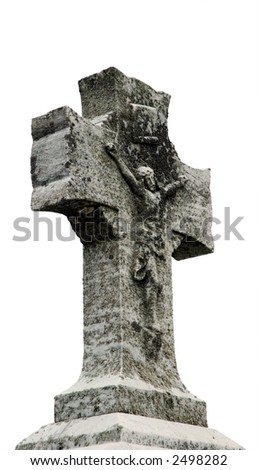 antique marble cross, New Hampshire