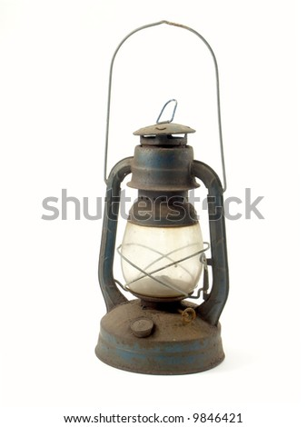antique petroleum-lamp - stock photo