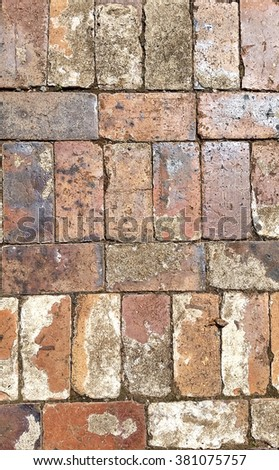 Antique Recycled Bricks 2