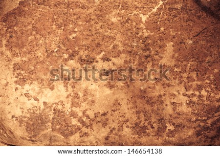 Antique Rough Weathered Old Leather Background Texture - stock photo