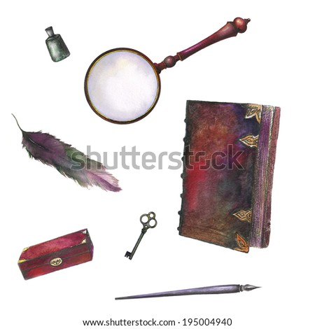 Antique things. - stock photo