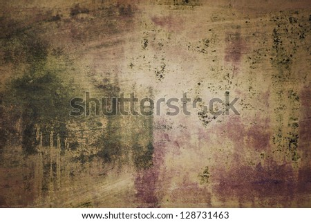 Antique Tinted Grunge Background