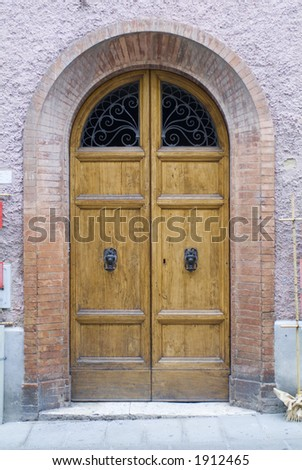 Antique Tuscany Door 08. See more like this in my portfolio