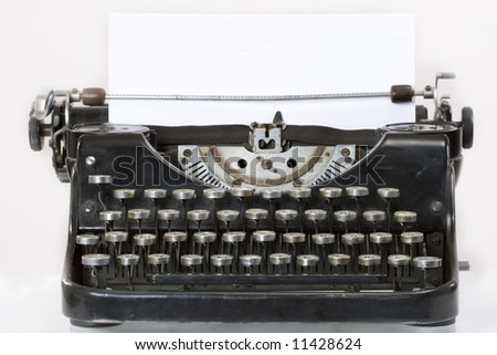Gallery For > Antiq... Vintage Typewriter Paper Photography