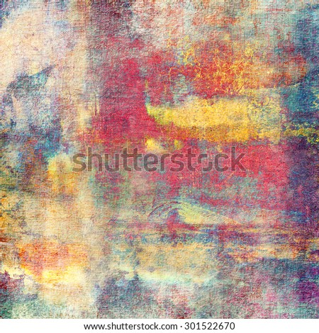 Antique vintage texture, old-fashioned weathered background - stock photo