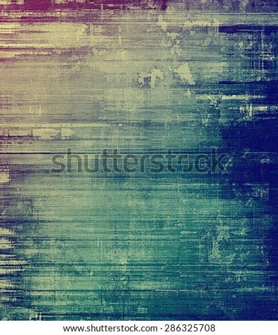 Antique vintage texture, old-fashioned weathered background. With different color patterns: gray; blue; purple (violet); cyan - stock photo