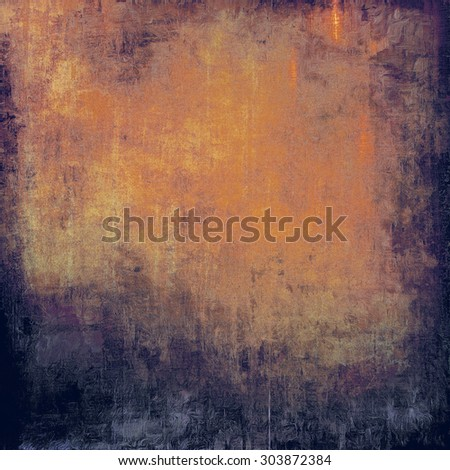 Antique vintage texture or background. With different color patterns: yellow (beige); brown; blue; purple (violet) - stock photo